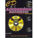CD à l'accordéon diatonique Solfège/Tablatures - CDCD01010112