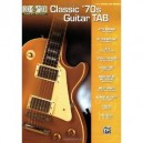 10 for 10- Classic '70s Guitar TAB (Anglais) A31479